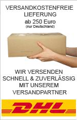 Versandkostenfreie Lieferung ab 250 Euro
