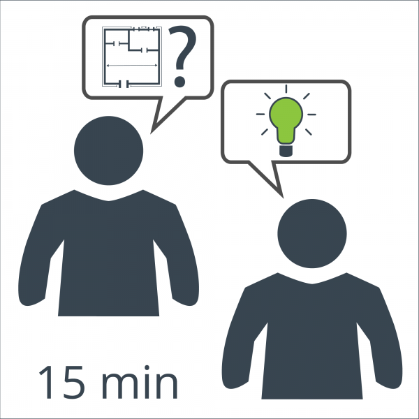 Individuelle Beratung / Planung - Umsetzung Ihrer Lichtideen (Beratungseinheit 15 Minuten)