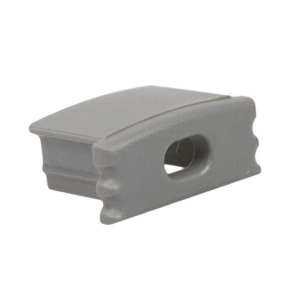 Endkappe für Aluprofil LAP-11 mit Loch / Endstück LED-Leiste