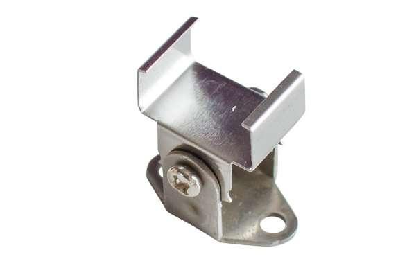 Flex-Halterung Montageclip / Befestigungsklammer für LED Alu-Profil LAP-11 und LLP-461, verstellbar