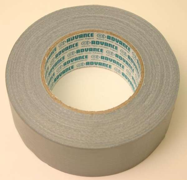 Gaffa-Tape Advance, silber, 50m-Rolle