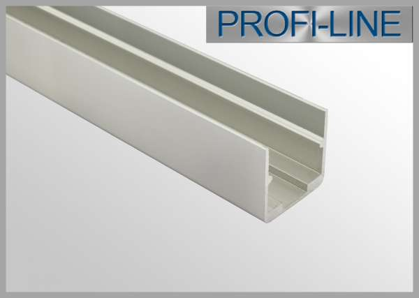 1m Alu-Profil für LED Flex Tube, Silikon-Schlauch 16 x 16 mm (Art.-Nr. 107947)