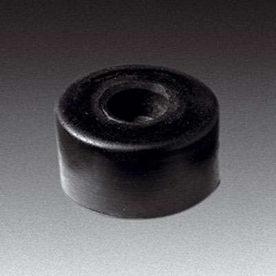 Gummifuß, groß, H:20mm, schwarz