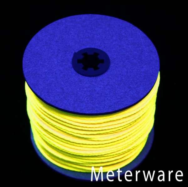 UV-Leuchtschnur gelb UV-Schnur