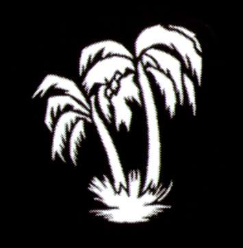 "E-Gobo ""Palm Tree"" Metallgobo"