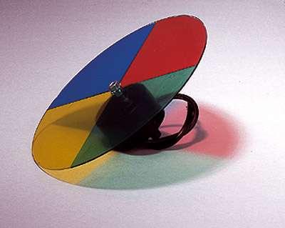 4-fach Farbwechsler mit Motor für 06301/03 Paßt nicht auf Punktstrahler 06321/22!