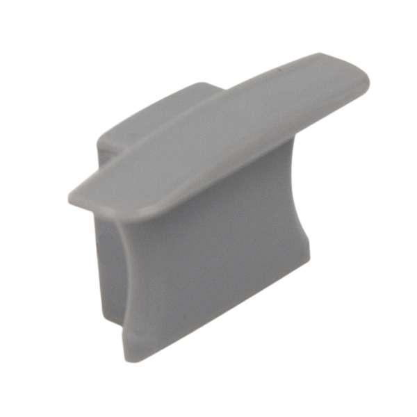 Endkappe für Aluprofil LAP-41 ohne Loch / Endstück LED-Leiste