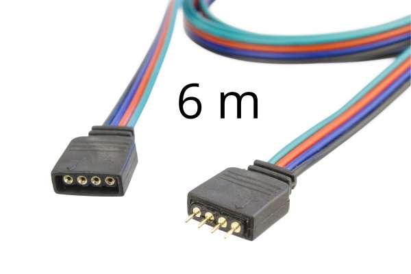 6m Verlängerung für RGB LED-Strips