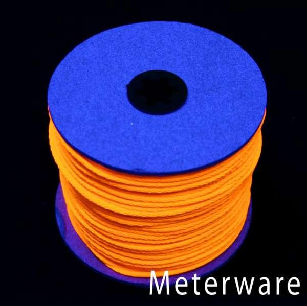 UV-Leuchtschnur orange UV-Schnur