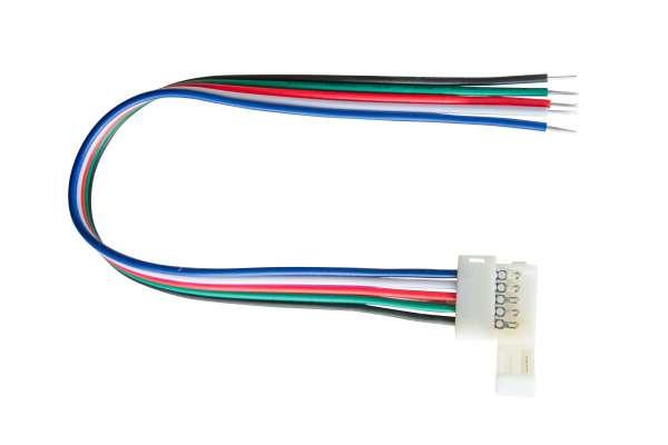 12 mm Schnellverbinder Anschlusskabel für RGBW LED-Strips mit 12mm Breite, lötfrei