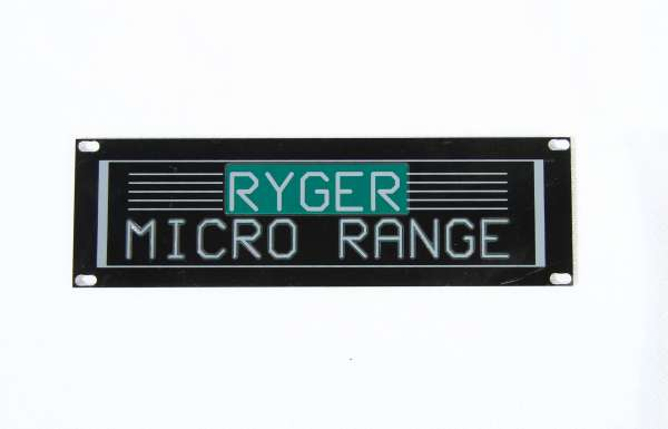 Ryger Blindplatte für MICRO-Serie