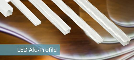 led alu profile f r led strips led profile f r ihre leds. Black Bedroom Furniture Sets. Home Design Ideas