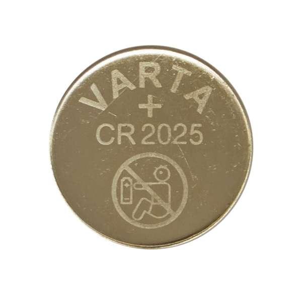Ersatz Batterie Varta CR 2025 3V Knopfzelle für Fernbedienungen