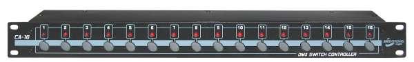 JB Systems 16-Kanal DMX Schalterboard, CA-16