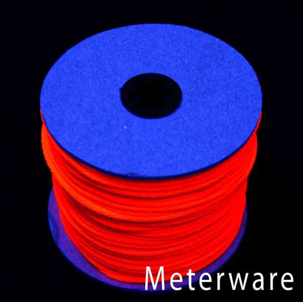 UV-Leuchtschnur rot UV-Schnur