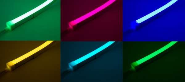 9,58 m Outdoor IP67 LED Strip NEON-like PL 1615CV, 24V, 15W/m, RGBW (W=2700K),