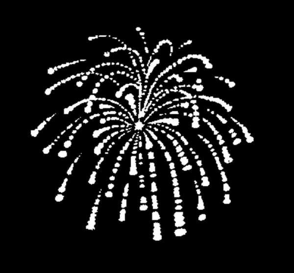 """D-Gobo """"Fireworks"""" Metallgobo"""