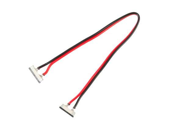 20 cm Verbindungskabel, 2-polig für einfarbige LED-Strips mit 10mm Breite, lötfreie Schnellverbinder