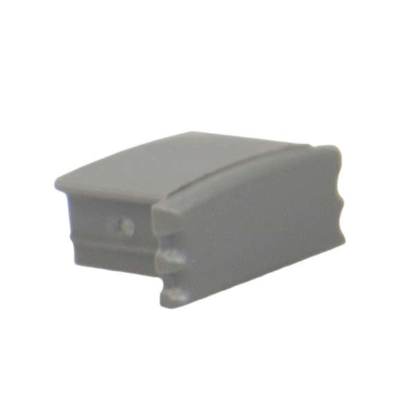 Endkappe für Aluprofil LAP-11 ohne Loch / Endstück LED-Leiste