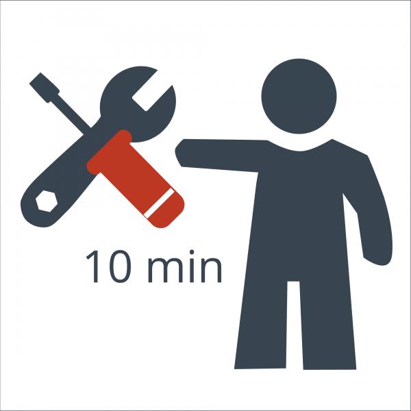 Arbeitseinheit 10 Minuten Techniker für individuelle Anfertigung oder Modifikation