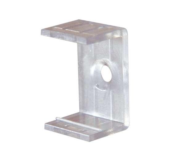 Montageclip / Befestigungsklammer für LED Alu-Profil LAP-71 und LAP-81 / Clip für LED-Leiste