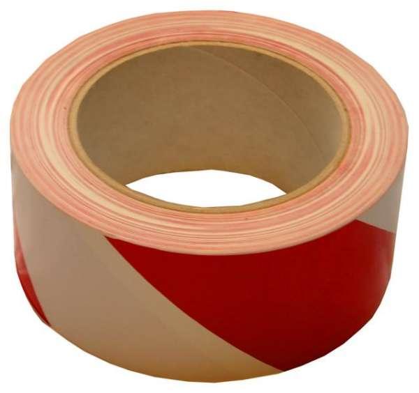 Warn-Tape rot/weiß, 33m