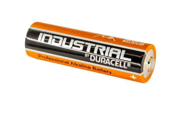 Duracell Industrial oder PROCELL Alkaline Batterie AA Mignon, LR6