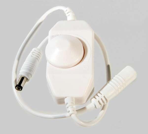 12V 2A LED-Dimmer für 1-Kanal LED-Strips Schnurdimmer