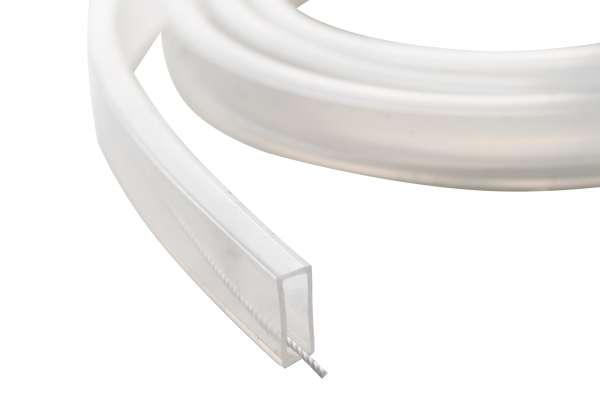 Meterware 10mm Silikon-Schlauch zur Aufnahme von 10 mm breiten LED-Strips / IP67 Zubehör wasserfest