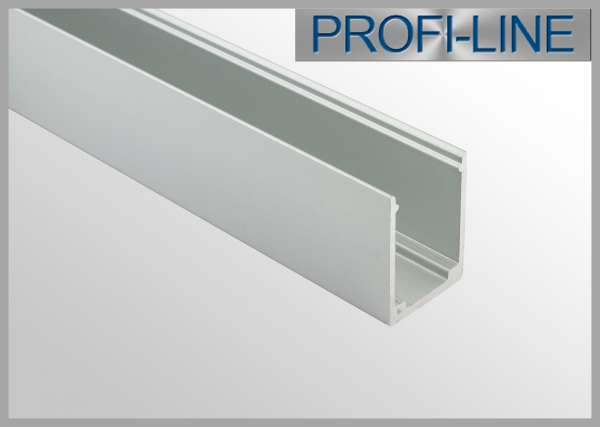 2m Alu-Profil für LED Flex Tube, Silikon-Schlauch 12 x 20 mm (Art.-Nr. 107946)