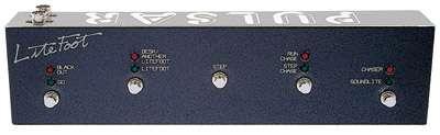 Pulsar Fußschalter ZERO 4001 inkl. 10m DIN-DIN Anschlußkabel