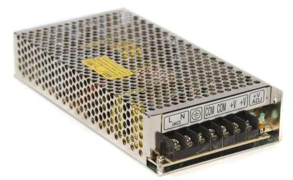 12V 150W Netzteil / Mean Well Schaltnetzteil RS-150-12, Trafo DC 12V stabilisiert, 12,5A
