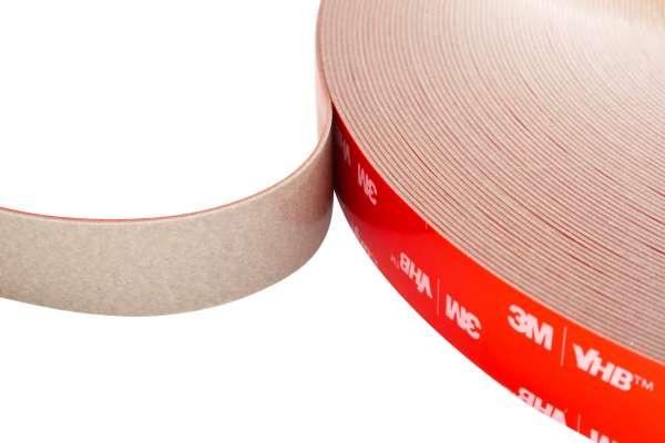 3M VHB doppelseitiges Hochleistungs-Klebeband aus Acrylatschaum, witterungsbeständig, Typ 5608, 18mm breit, 33m Rolle
