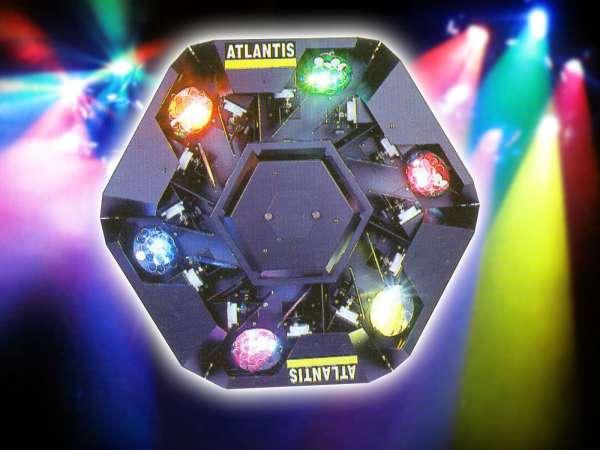 Atlantis Centereffekt inkl. Lampe MSR 400 - neuwertiges Vorführgerät!