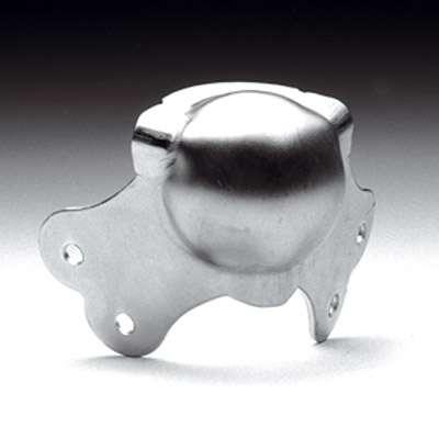 Kugelecke, groß, zweischenkelig, schwere Ausführung, verzinkt, Stahl