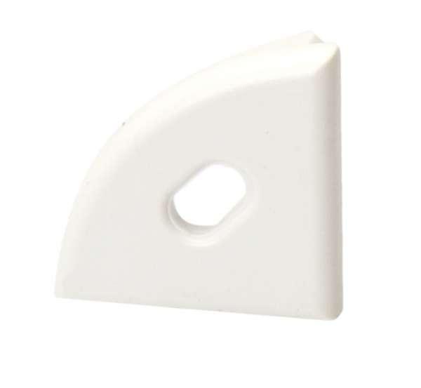 Endkappe für Aluprofil LAP-01 mit Loch / Endstück LED-Leiste