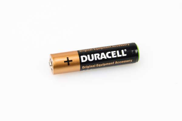 Duracell Industrial Batterie Alkaline 1,5V Micro AAA LR03 AM4 MN2400