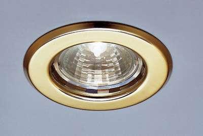 Deckeneinbauringe FGL-Ring, starr, chrom, ohne Lampe