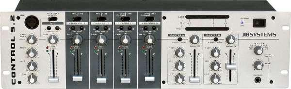JB Systems Control 5.2 Dual Zone Mixer n.m.l