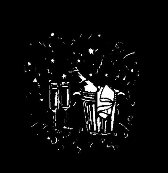 "E-Gobo ""Champagne"" Metallgobo"