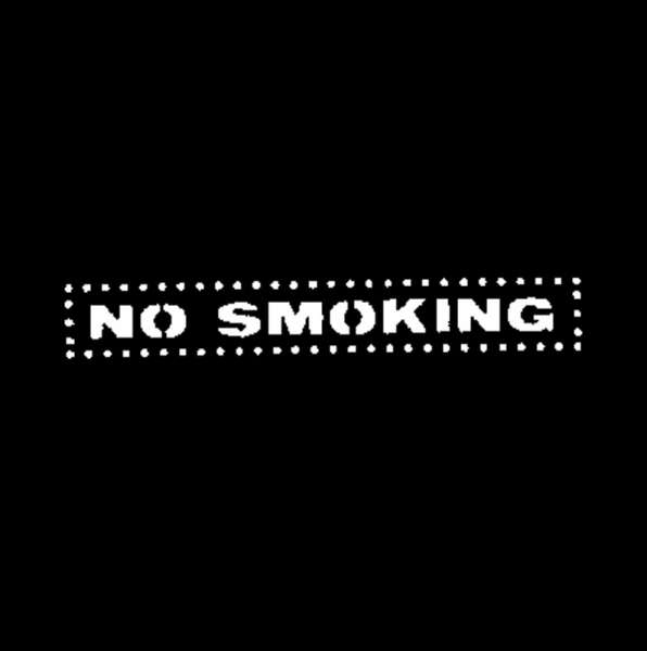 "D-Gobo ""No Smoking"" Metallgobo"