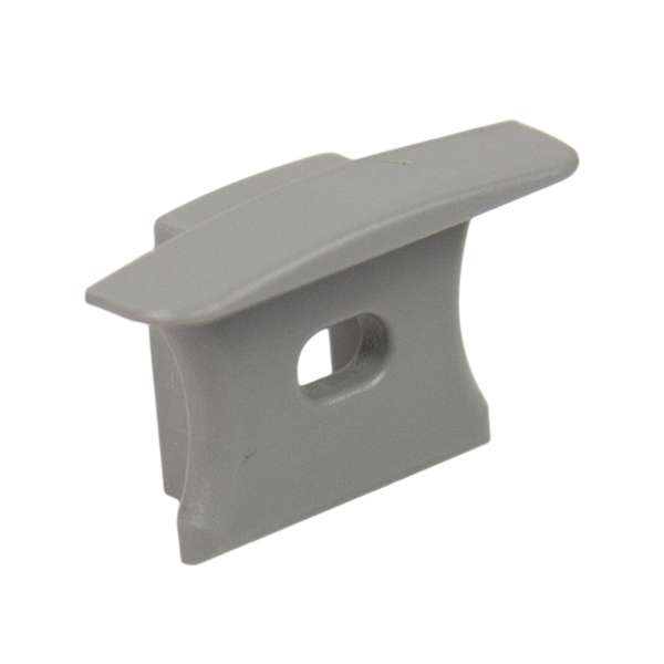 Endkappe für Aluprofil LAP-41 mit Loch / Endstück LED-Leiste