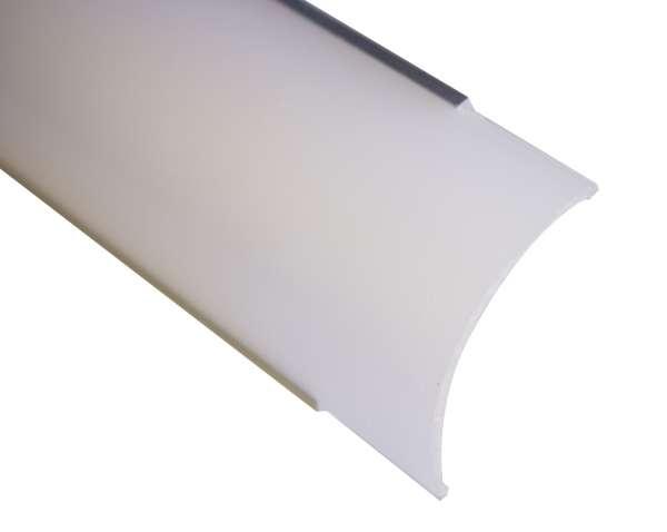 2m Abdeckung FROST für LED-Profil GROSS Eckprofil LAP-02 einzeln als Ersatz