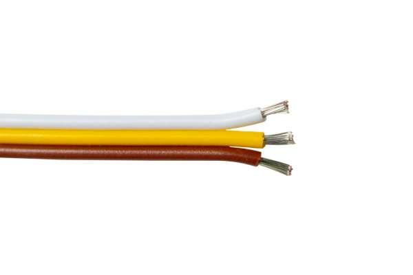 Meterware Verlängerung 3adrig für CCT LED-Strips 3-adrig CCT-LED-Kabel, Litze, Litzenkabel AWG20