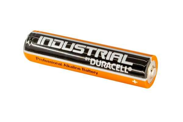 Duracell Industrial Batterie Alkaline 1,5V Micro AAA LR03 AM4 MN2400