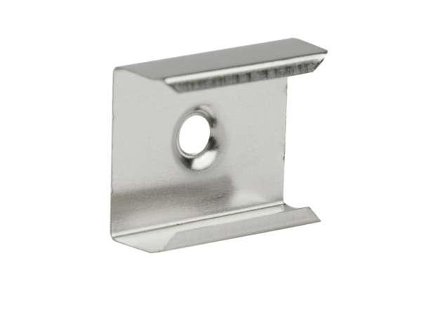 Montageclip / Befestigungsklammer für LED Alu-Profill Schmal und Einbau für LED-Strips Halterung Halter