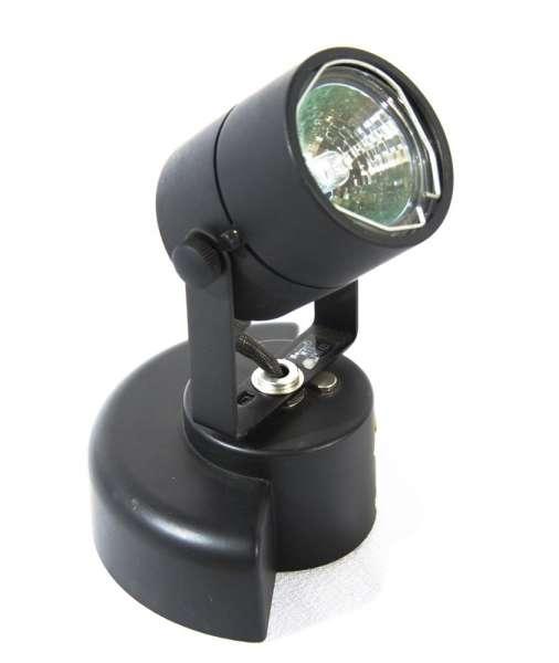 Tondo 1250, schwarz, mit Trafo, für Lampe MR 16 bis max. 50W
