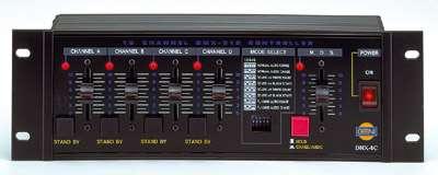 GENI DMX-4C, 4-Kanal DMX-Controller