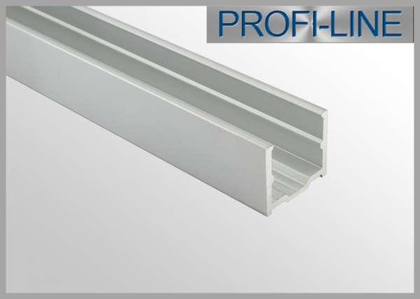 1m Alu-Profil für Silicone Tube in 16mm Breite (Sonderanfertigung)