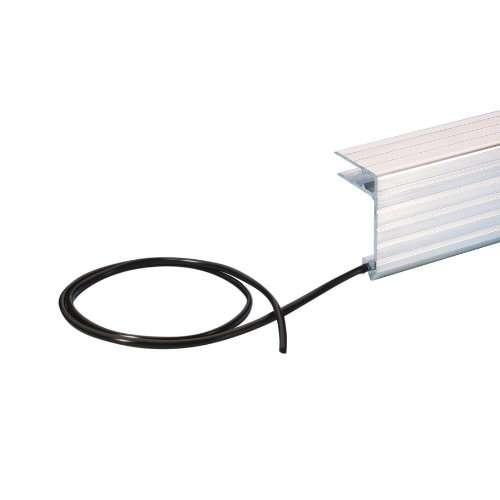 Kunststoff-Dichtungsprofil für Alu-Deckelrahmen 7mm